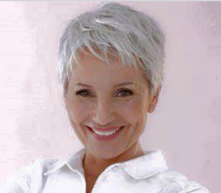 Kurz Haar Frisuren Grau