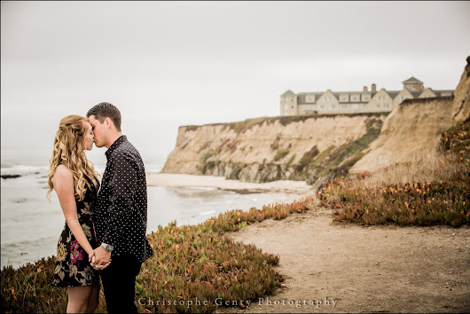 Engagement Photography in Half Moon Bay & Moss Beach {Kenzie + J.J.} | Christophe Genty Photography Blog