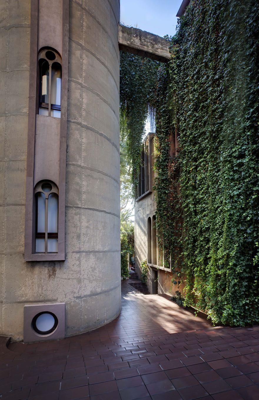 Ricardo Bofill casa personal cemento 18