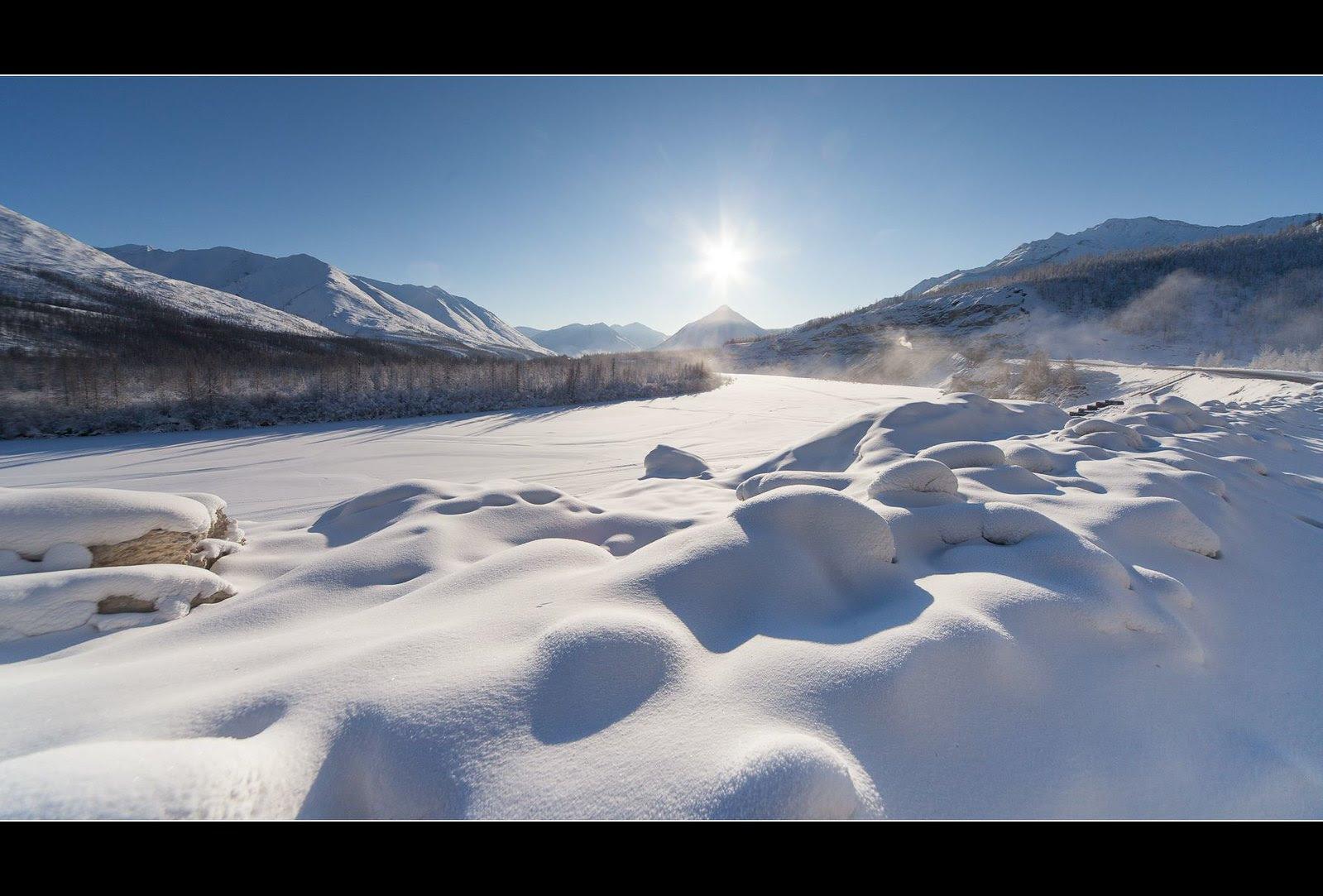 verkhoyansk mountains Shaka republik , Yakutia Russia ..