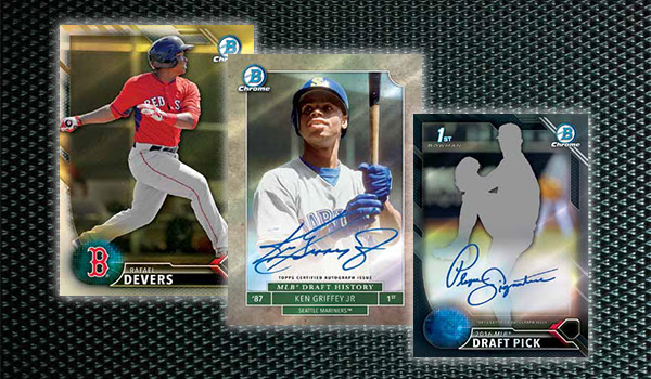 2016 Bowman Draft Baseball Header