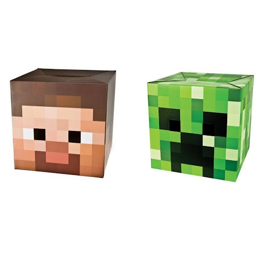 Minecraft Steve head and Creeper - MyTop10BestSellers