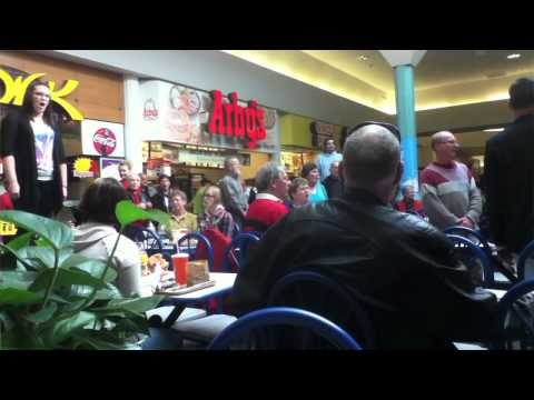 Surprise Flash Mob at Seaway Mall - Over 50 Million Views! - Welland Ontario!