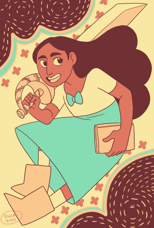 "For the palettes, maybe Connie in ""Castle In the..."