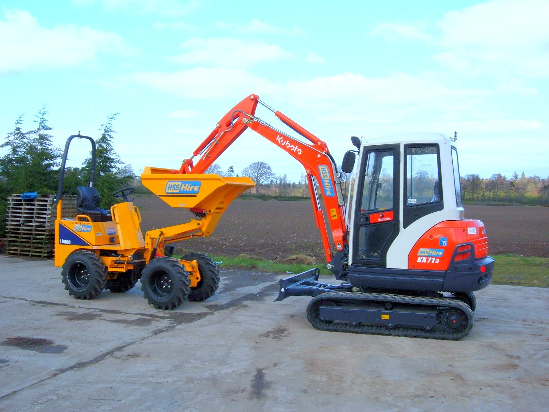 Hss Hire Ireland Becomes Country S Biggest Kubota Hirer