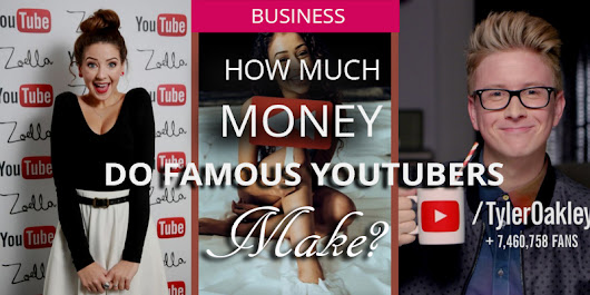 How Much Do Famous YouTubers Earn?