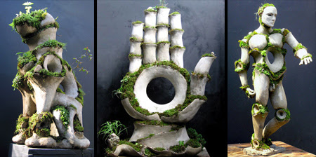 Living Sculptures by Robert Cannon