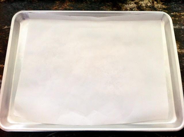 Lined Half Sheet Pan