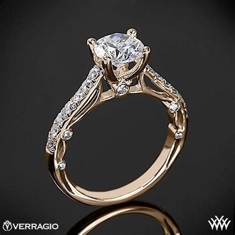 Verragio Bead Set Cathedral Diamond Engagement Ring   1967