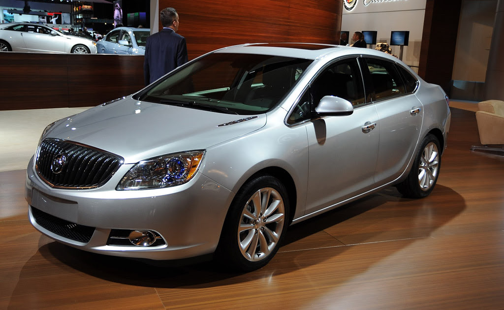video 2012 buick verano unveiling at the 2011 detroit