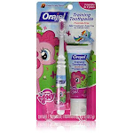 Orajel My Little Pony Toddler Training Toothpaste Pinkie Fruity 1 Ounce