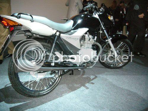 Foto da Nova Honda Titan modelo 2009