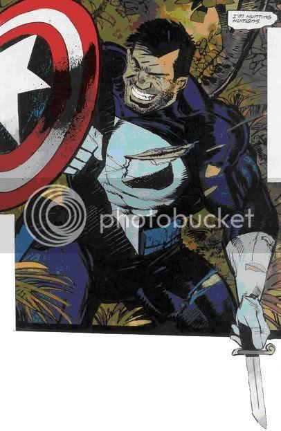 Capitão América + Justiceiro?