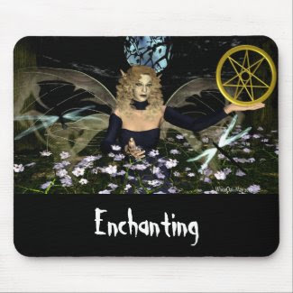 One Enchanted Night mousepad