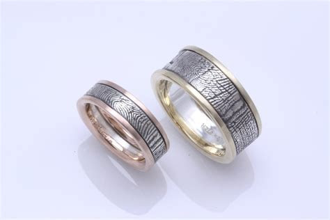 General Valentine » Fabulous Wedding Bands with Fingerprint