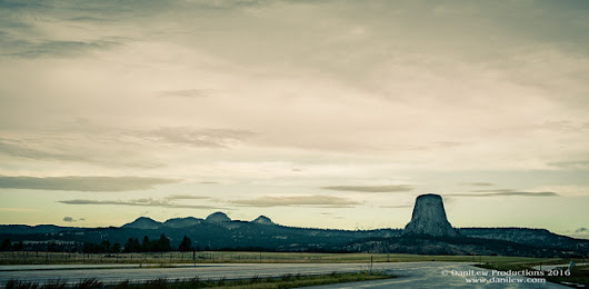 Devils Tower: from a distance and up close | DaniLew Photography