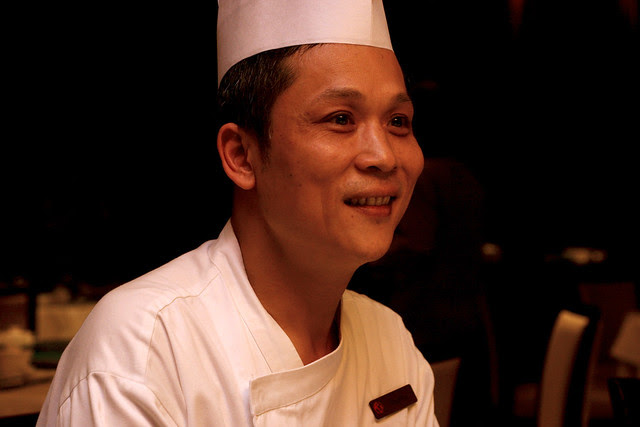 Chef Mak Kwa Pui is really sweet and unpretentious