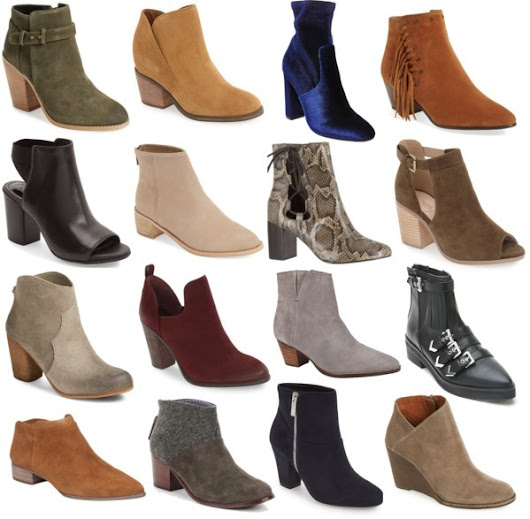 Wednesday Wish List- Booties Under $100 & Free Shipping!