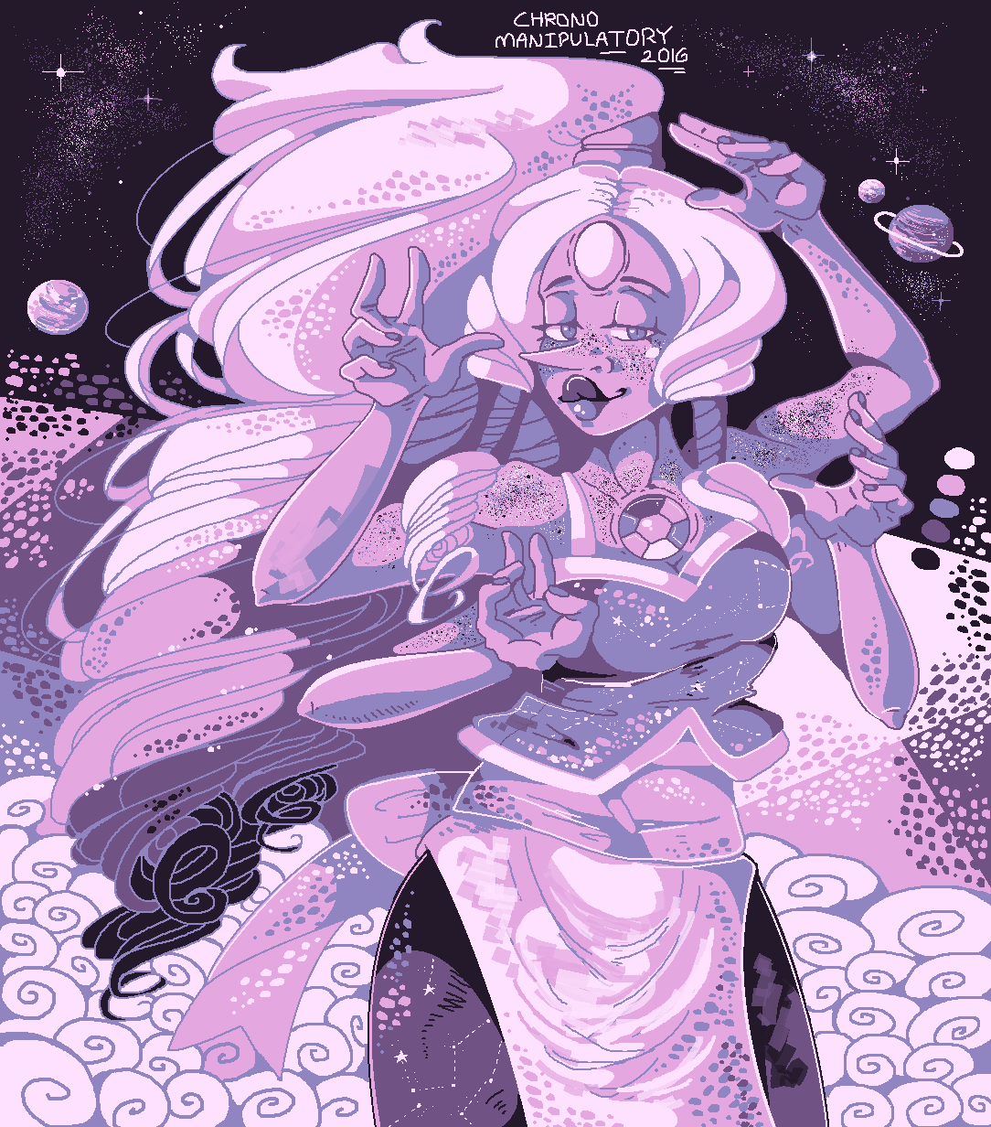 Another color palette challenge. This time with Opal and #3 on this color palette.