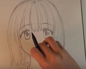 顔のイラストを描く練習のコツはまず正面から初心者お絵かき講座