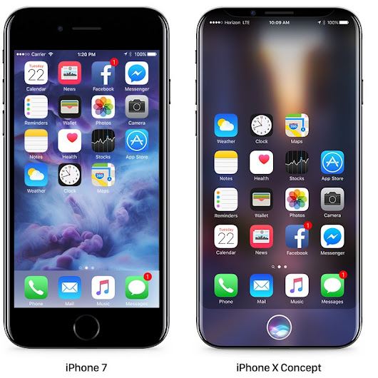 5.8-Inch iPhone Said to Have Curved Display, But Not as Curved as Galaxy S7 Edge
