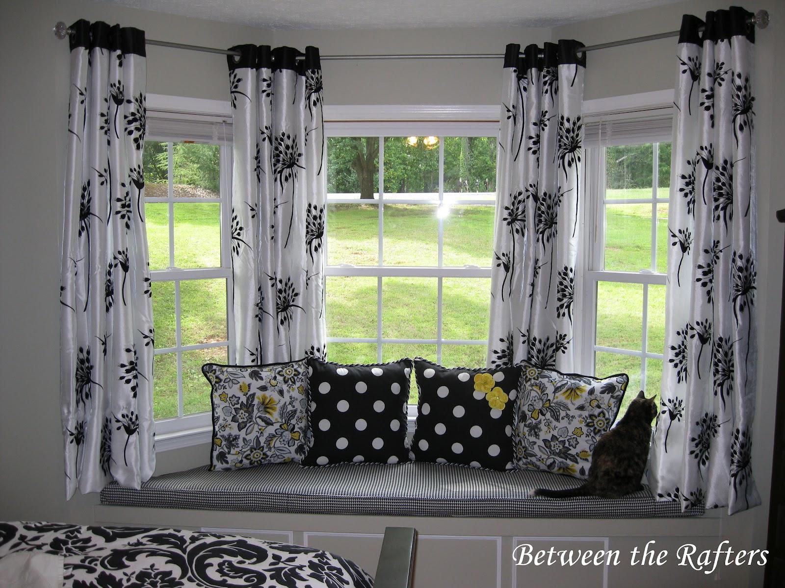 Curtain Rods For Bay Windows Homesfeed