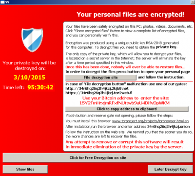 Malicious ads spreading crypto ransomware - Senior Online Safety