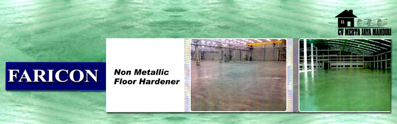 Jual Floor Hardener Faricon Bubuk Kemasan 25kg Jasa Floor Hardener Jakarta