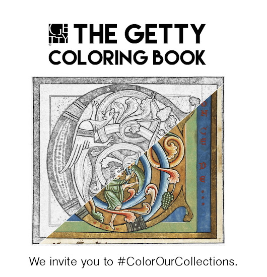 #ColorOurCollections: The Getty Coloring Book... | The Getty