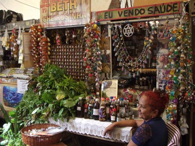Mulheres erveiras do Ver-o-Peso (Foto: Lucas Teixeira/Divulgação)