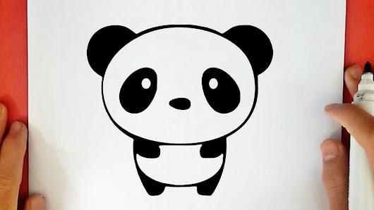 Comment dessiner un panda kawaii - Panda a dessiner ...