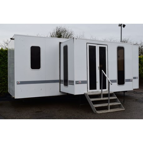 For Sale Used FourTec Pull Out Show Hospitality Exhibition Trailer