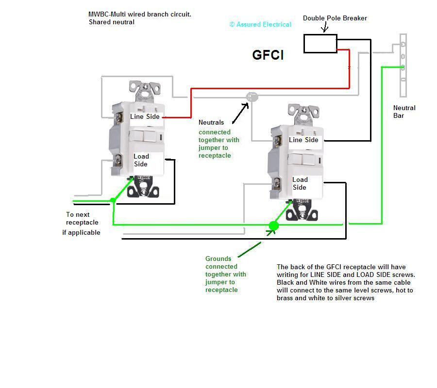 Wiring Diagram: 27 2 Pole Gfci Breaker Wiring Diagram