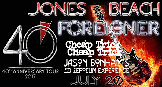 Foreigner / Cheap Trick - July 20, 2017