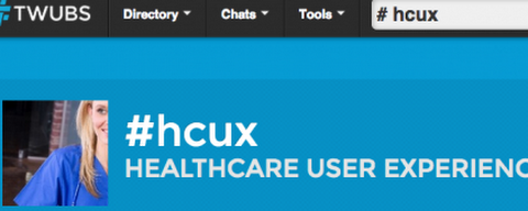 Topics for the first #HCUX tweet chat have been announced | Healthcare Usability