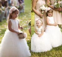 outdoor wedding flower girl dresses casual