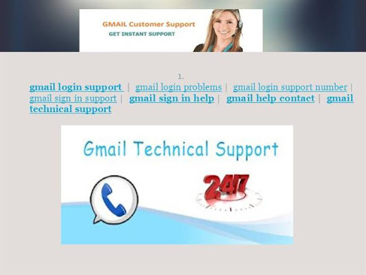 Gmail Login Support @ Gmail Technical Support