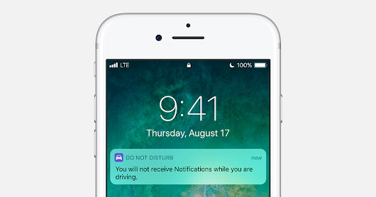 How to use the Do Not Disturb while driving feature - Apple Support