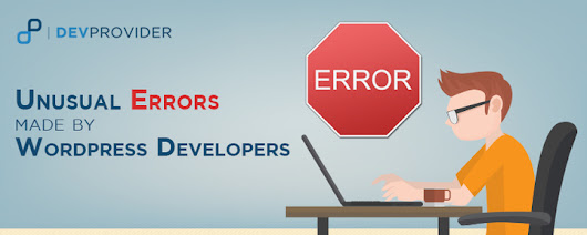 Unusual errors made by WordPress developers - DevProvider