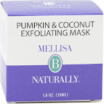 Melissa B Naturally Exfoliating Mask Pumpkin and Coconut - 1 Ounce