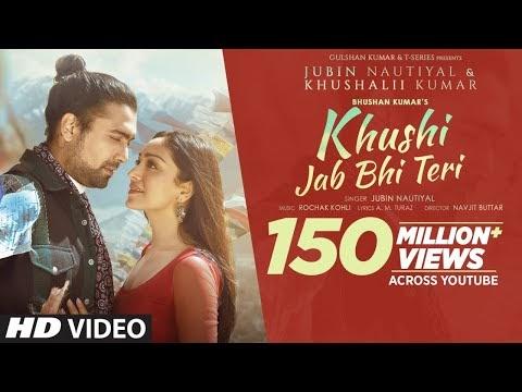 Khushi Jab Bhi Teri | Jubin Nautiyal | Khushalii Kumar