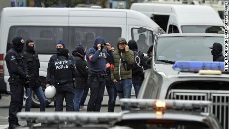 """Hình ảnh Bỉ cảnh báo Brussels mức """"đe dọa khẩn cấp và nghiêm trọng"""" số 1"""