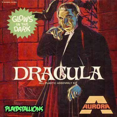 Aurora Monster Models dracula