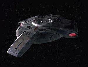 Defiant class starship