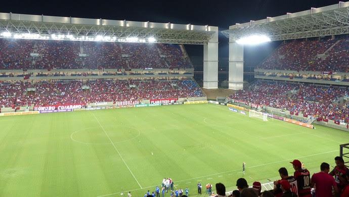 Arena Pantanal Flamengo x Goiás (Foto: Cahê Mota)