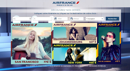 "New #AirFrance Campaing: ""France is in the Air"" - Fresh approach or Cliche & Elitist?"
