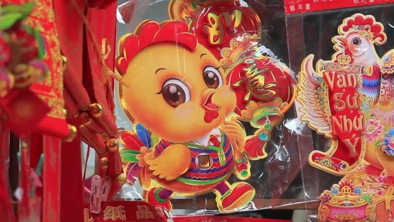 Đồ trang trí này Tết tại Hà Nội