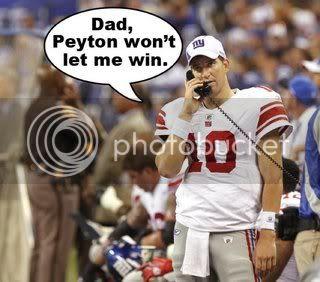 Eli whines