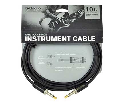 4 Best Guitar Cables - Reviews 2017 -