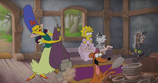 The Simpsons Gives Its Couch Gag the Disney Treatment | WIRED